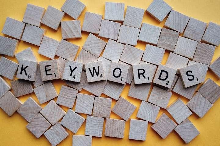 Select keywords carefully