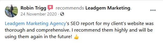 Lead Gem Review - Robin
